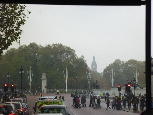 Approaching the Palace