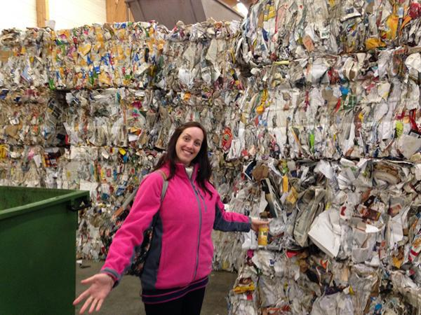 A visit to the recycling centre