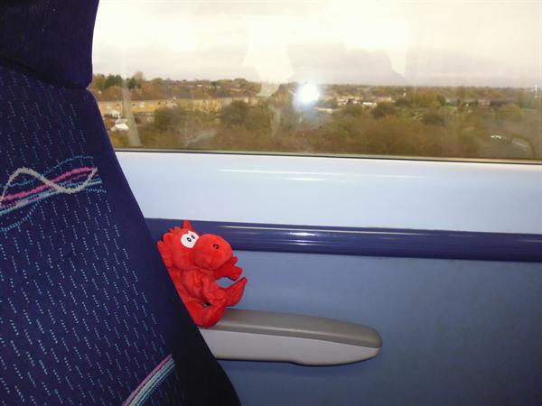RRD on the train from Cardiff to London