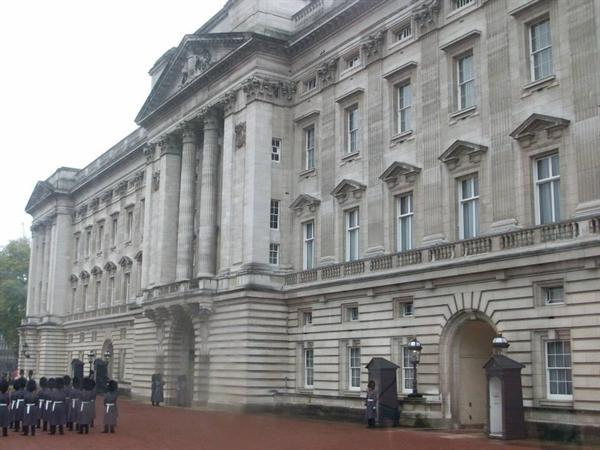 The Palace from inside the famous railings