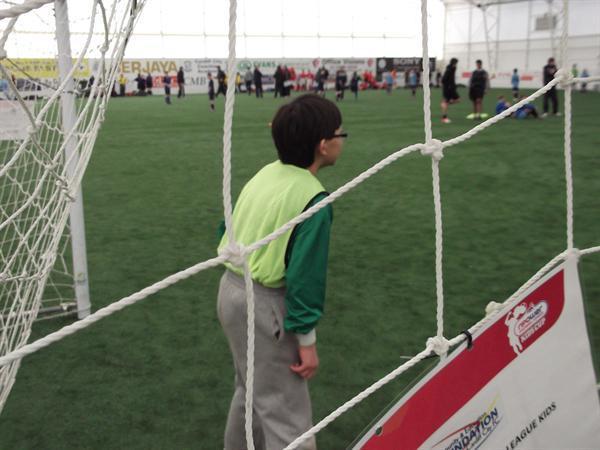 Our trustee goalie