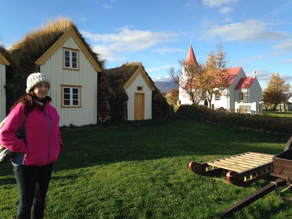 Visit to the traditional turf huts