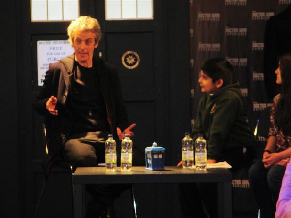 Interviewing the Doctor