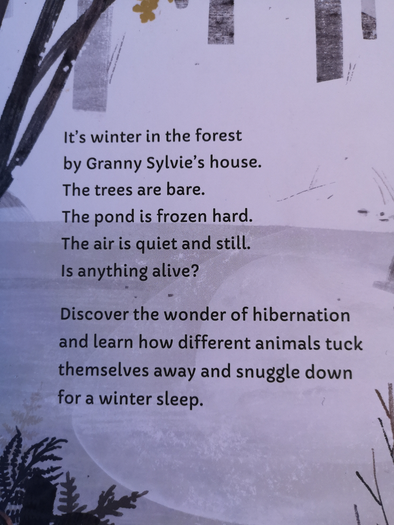 Blurb on back cover