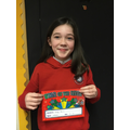 Y5 Bubble:  This young lady has worked with a positive attitude all week - well done!