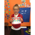 Thistle: making good choices, using her manners and trying hard all week!