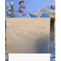 Elm:  Noah - Excellent sentence writing and improving handwriting!