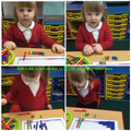 Nursery: Emili - Fantastic ordering by size maths skills this week - well done!