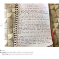 Hawk: Riley S -beautiful handwriting and thoughts