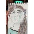 Owl: Kiera EW-sketching skills with tone & texture