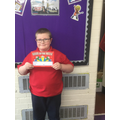 Skylark:  This young man has an improved and positive attitude towards his learning!