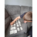 Rose: Logan B - practising counting skills