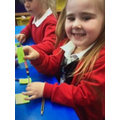 Elm - This young lady has shown great number recognition, formation and counting skills!