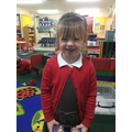 Nursery:  This young lady has settled well into Nursery - no more tears!