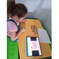 Alder: Daisy-May S - watching her learning video