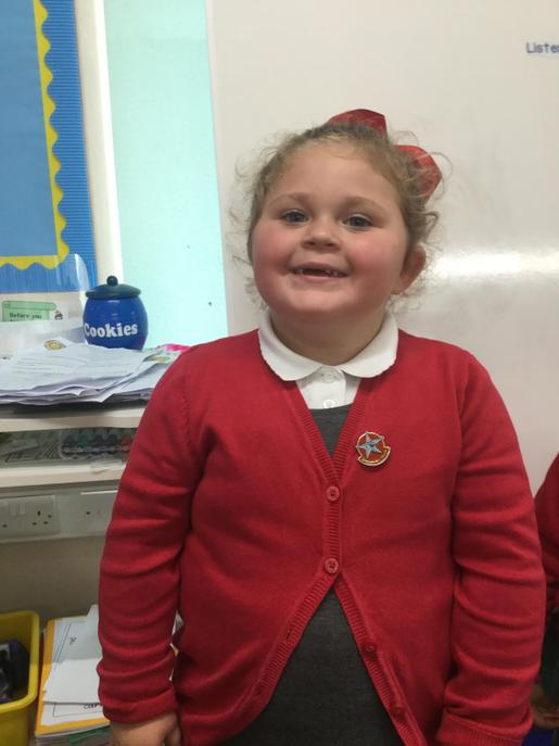 Nursery:  This young lady is joining in and being more independent!
