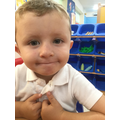 Nursery:  This young man has helped new children settle in very sensibly!