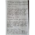Skylark:  Daisy J - For writing a super evacuation plan - well done!