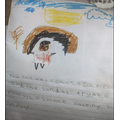 Birch:  Darcey - Using all her writing skills and a beautiful illustration!