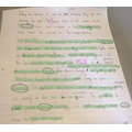Miss Green's group:  Lucy - Fabulous story writing this week!