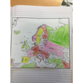 Raleigh:  Moses - excellent European mapping skills and presentation!
