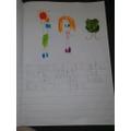 Thistle:  Dainton F - super sentence writing!