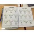 Birch: Dainton - excellent maths work this week!