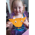 Nursery: Maci O - a fab fox for Wildlife Week!