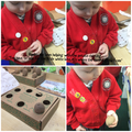 Nursery: Keeley - Joining in brilliantly with the potato chitting - well done!