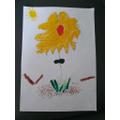 Thistle:  Dainton F - summery natural artwork