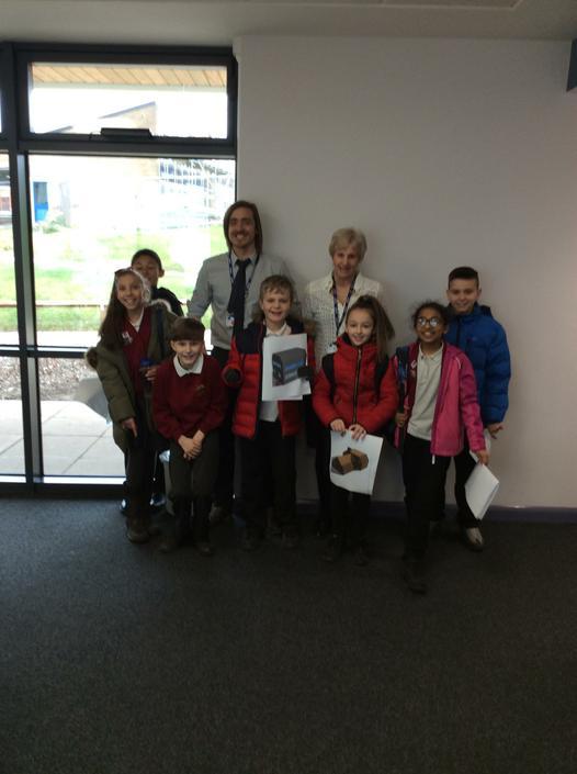 Year 5 children visit to The Cedars Academy