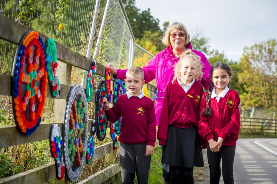 Bottle Top Project unveiling