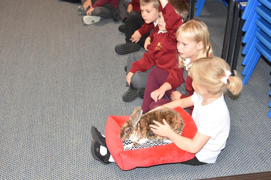 Lion Learners visits KS1