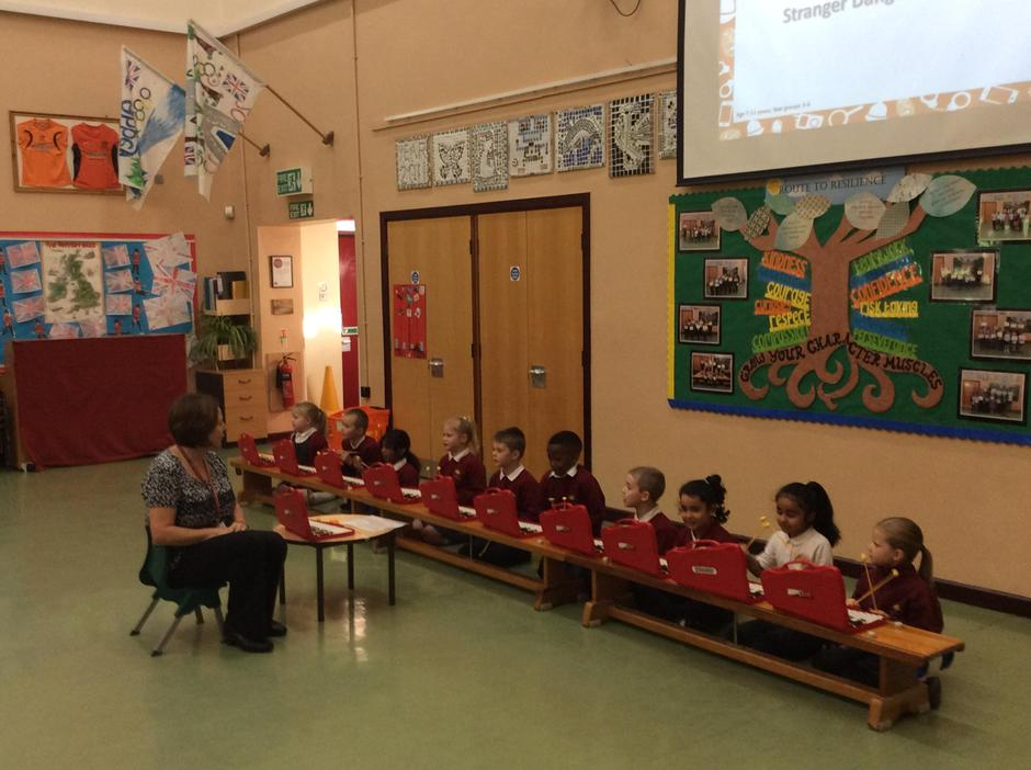 Year 2 Glockenspiel performance