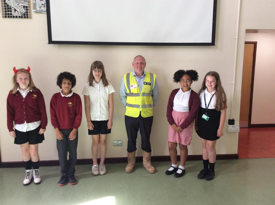Building Site Safety for the summer hols.