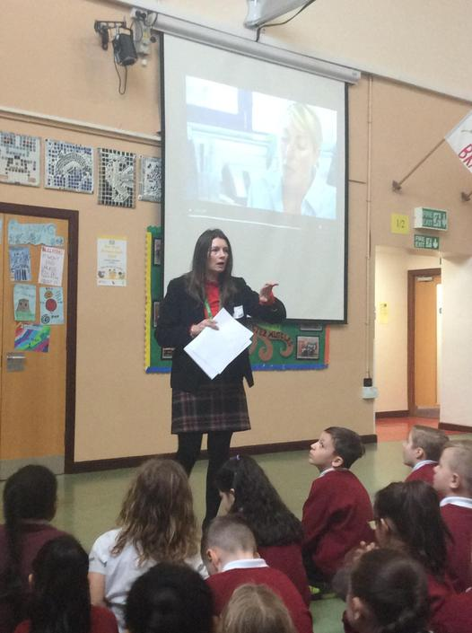 Staying Safe Online explained to the children