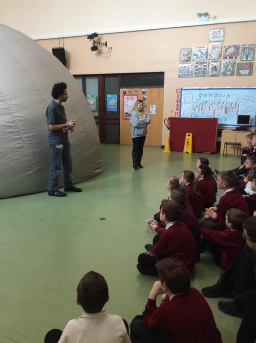 Space Dome pays Glebelands a visit.