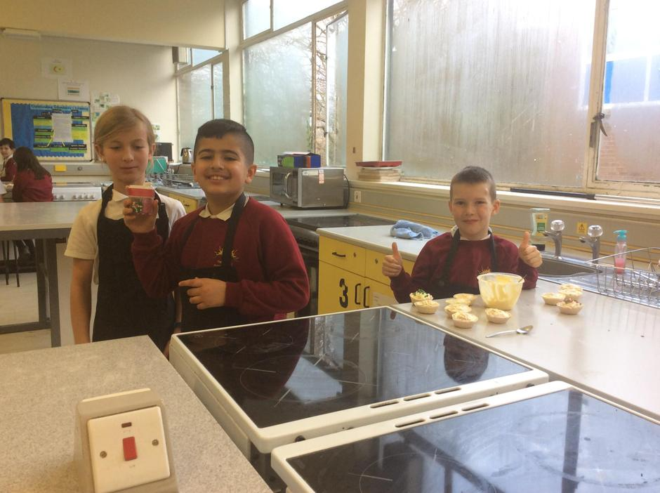 Year 5 children study nutrition at The Cedars