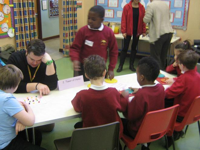 Maths Afternoon with Heatherbrook and B Lodge