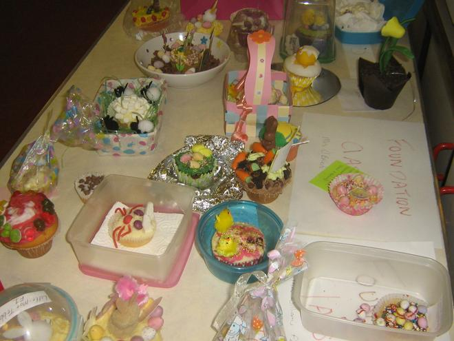Easter Cup Cake competition