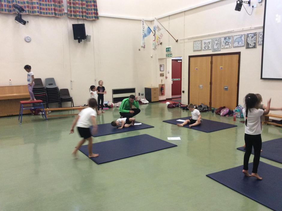 Gym Club is up and running again!