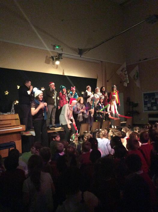 Staff Christmas choir and 'band'?