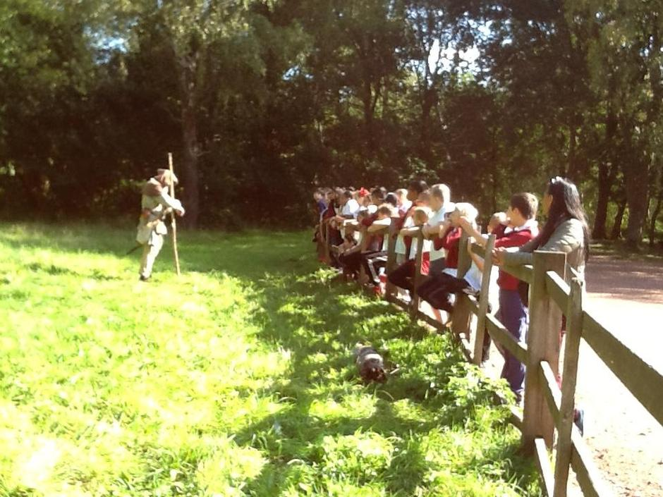 Year 5/6 visit Sherwood Forest