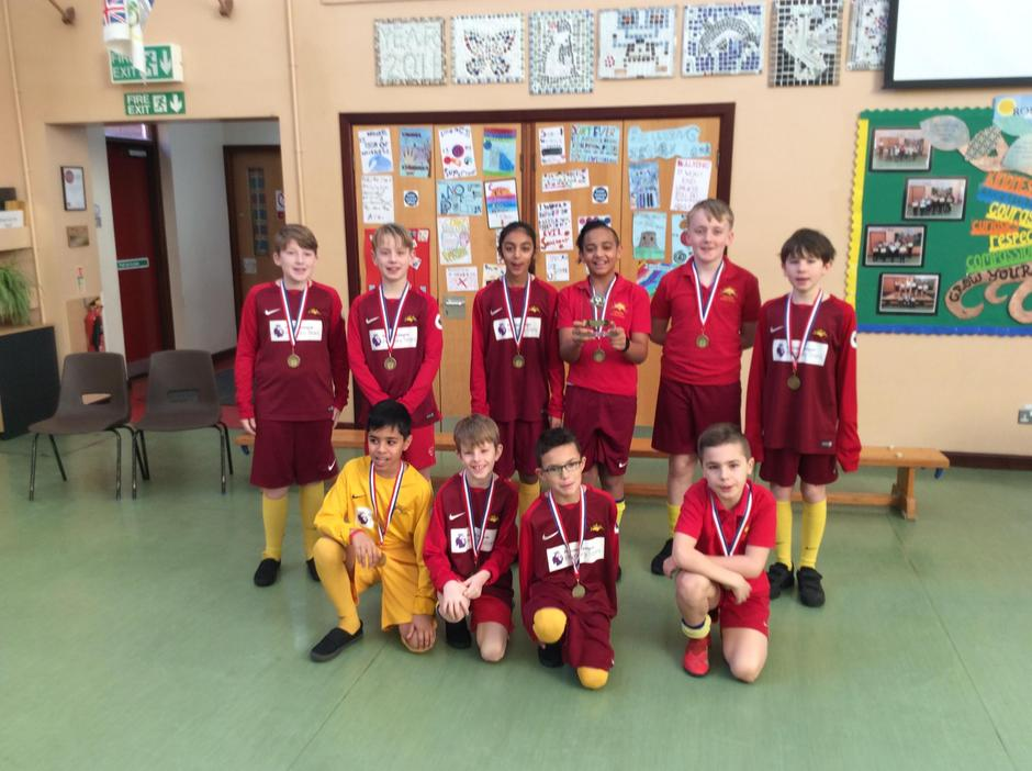 Football Division Winners!