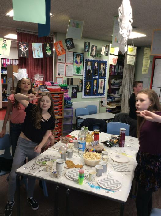 Year 6 Class Winner's Party