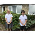 She has had a calm and kind start to the year and he has had an enthusiastic, engaged one!