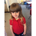 Fantastic attitude to her learning. She has settled into Year 1 confidently and quickly.