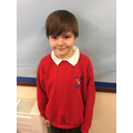 A positive attitude to his learning and working really hard to improve his handwriting.
