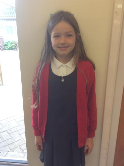 She is a lovely, hardworking, tolerant, kind girl who has made a terrific start!