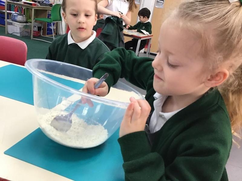 Making porridge